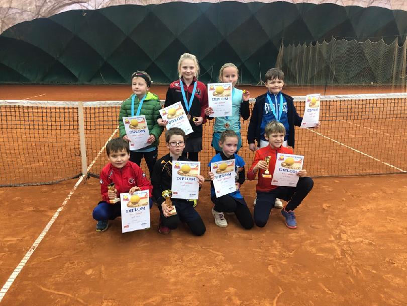 BABYTENIS Head Serie III. Znojmo 3.2.2019