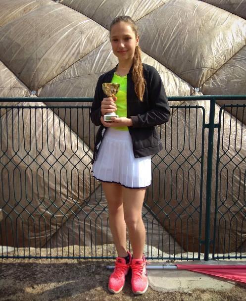 B.Sedláková 2.místo čtyřhra na ŽLTC Brno