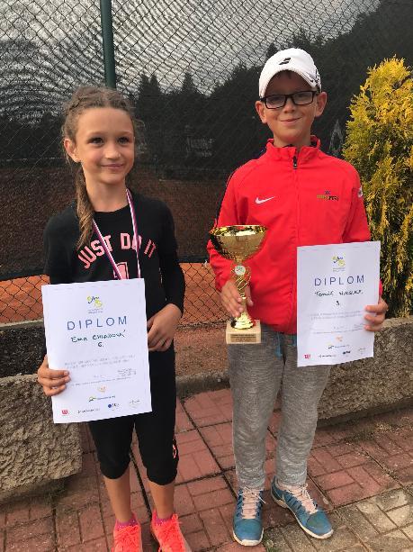E.Chladová a T.Wirgler - turnaj ve Zlíně 24.6.2018