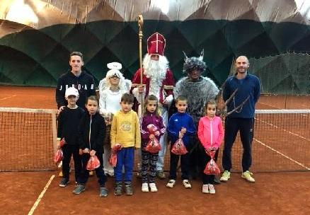 Mikulášská nadílka na tenise 4. a 5.12.2019