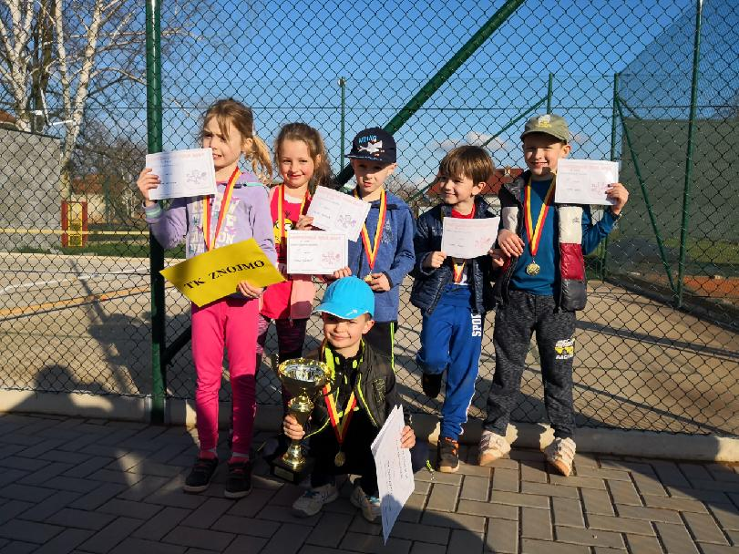 3.kolo MINI TOUR v Nové Vsi vítězně pro TK Znojmo