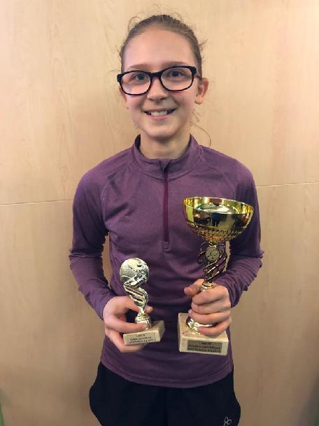 N.Borovičková 2x bronzová na TC Brno