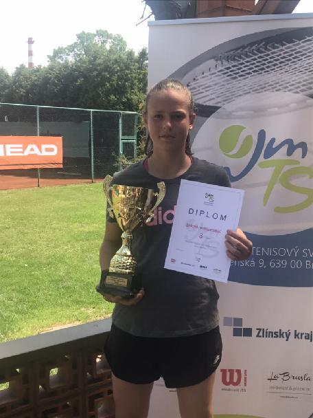 S.Wirglerová vybojovala bronz ve dvouhře na přebor