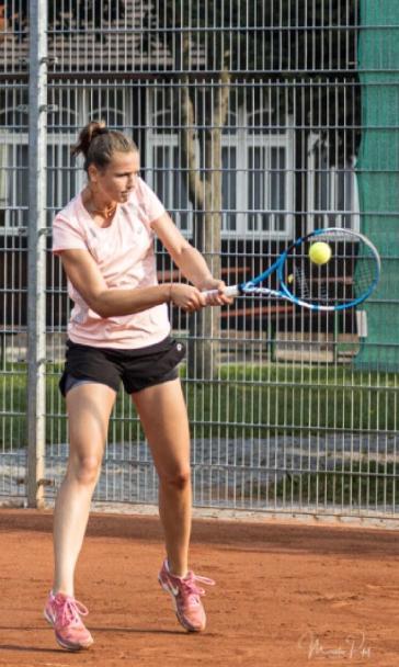 S.Wirglerová na turnaji dorostenek v Táboře