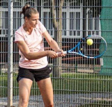Simča Wirglerová 3.místo ve dvouhře v Jihlavě