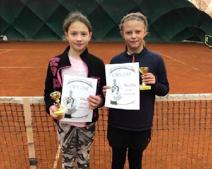 K.Severinová a Alenka Medunová 2.místo ve čtyřhře