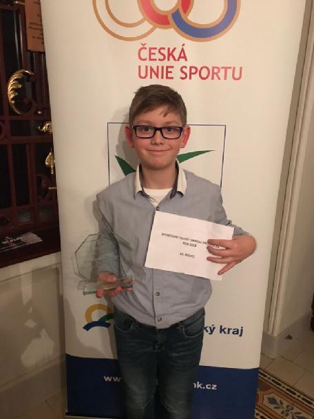 T.Wirgler vyhlášen na Sportovci okresu Znojmo 2018