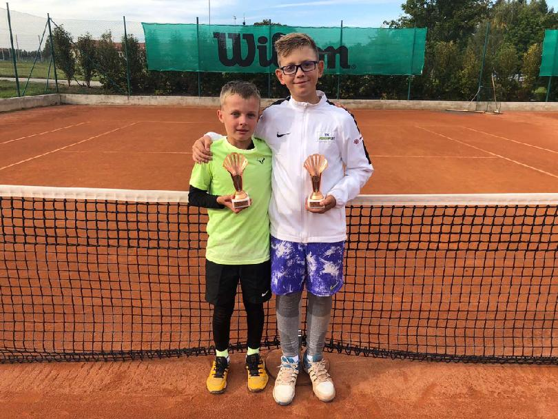Tomáš Wirgler 3.místo ve čtyřhře v Třeboni