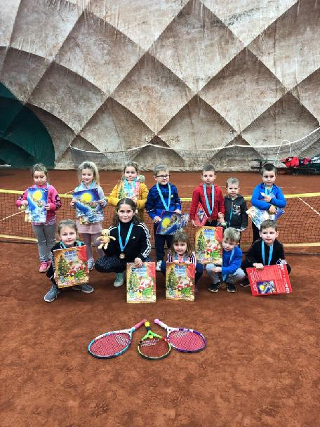 Vánoční turnaj v minitenise a ten.školy 18.12.2019